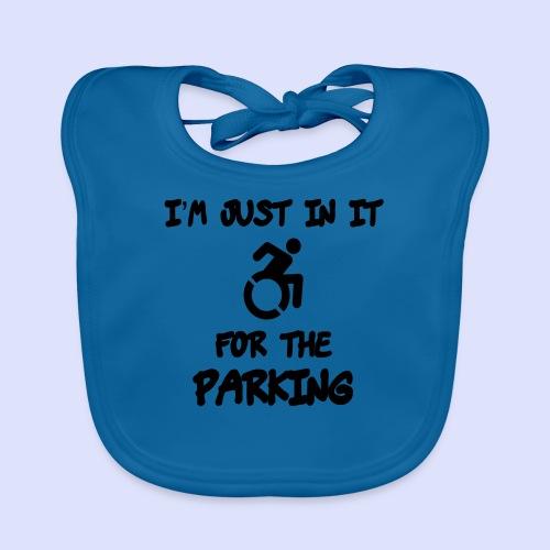 Ik zit in rolstoel voor parkeer voordelen - Bio-slabbetje voor baby's