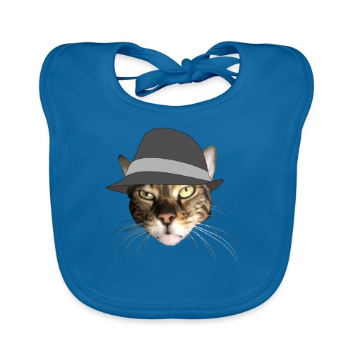 george hat - Baby Organic Bib