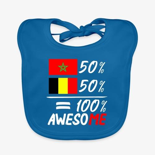 50%Marokko 50% Belgien - Baby Bio-Lätzchen