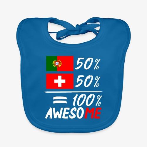 50% Portugal 50% Schweiz - Baby Bio-Lätzchen