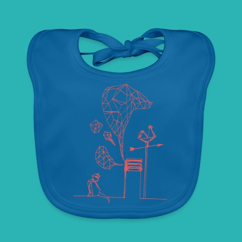 Carta_gatta_pink-png - Bavaglino ecologico per neonato