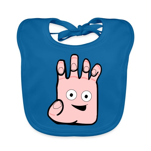 Winky Hand Folded - Organic Baby Bibs