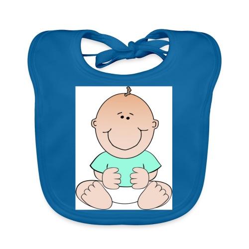 rompertje baby jongen - Bio-slabbetje voor baby's