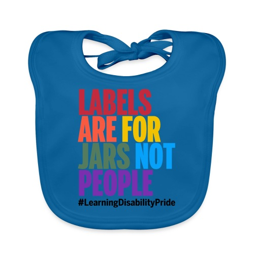 Labels are for Jars, Not People - Baby Organic Bib