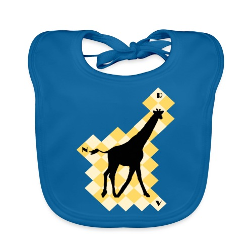 GiraffeSquare - Vauvan ruokalappu