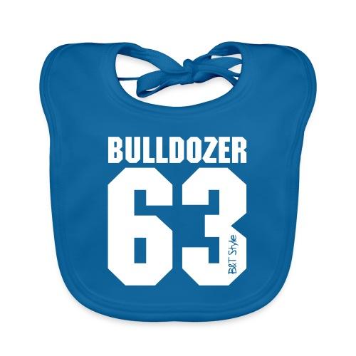 Bulldozer 63 - Bavaglino ecologico per neonato
