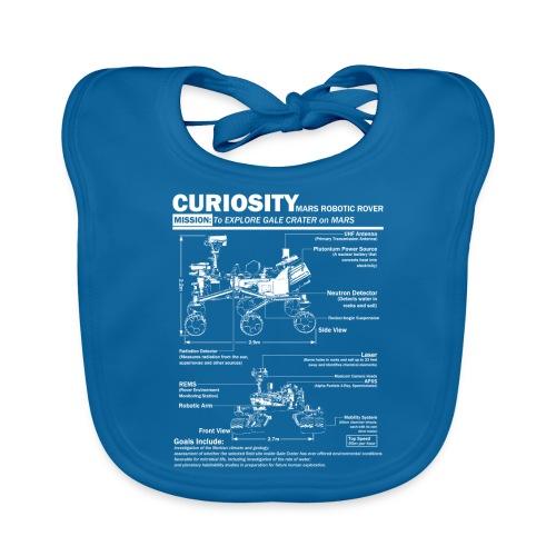 Curiosity Mars Rover - Baby Organic Bib
