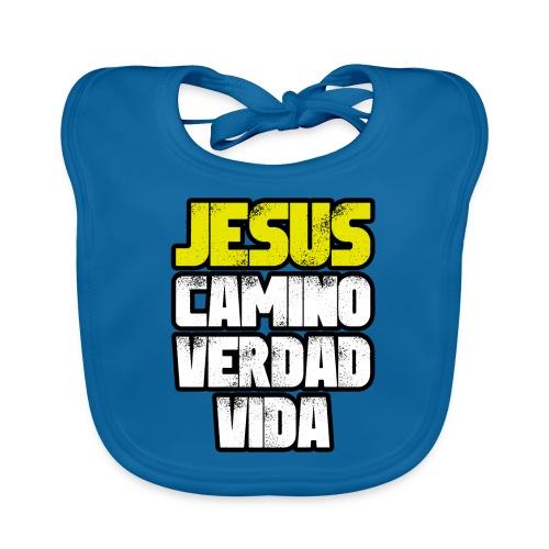 Jesus Camino Verdad Vida - Juan 14:6 - Babero ecológico bebé