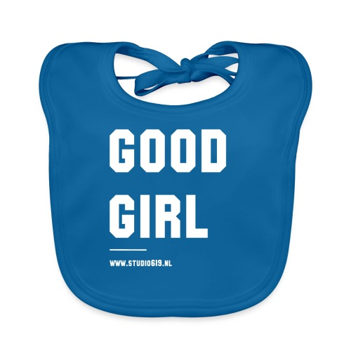 TANK TOP GOOD GIRL - Bio-slabbetje voor baby's