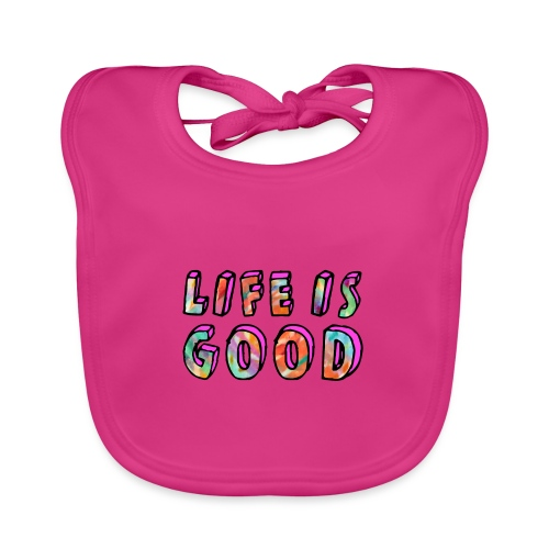 LifeIsGood - Baby Organic Bib