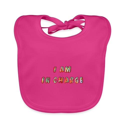 I am in Charge - Baby Organic Bib