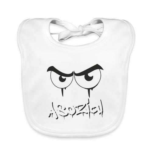 Asozial - Baby Bio-Lätzchen
