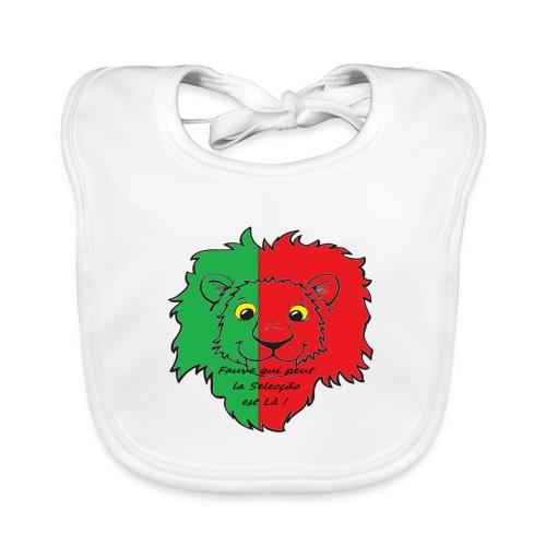 Lion supporter Portugal - Bavoir bio Bébé