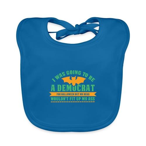 Ich wollte ein Demokrat zu Halloween sein - Baby Bio-Lätzchen