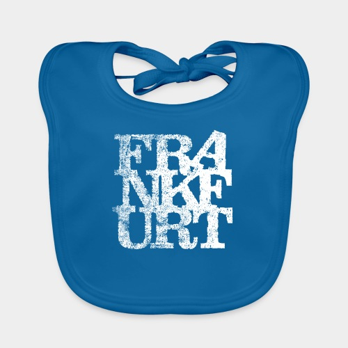 Frankfurt T-Shirt - Baby Bio-Lätzchen