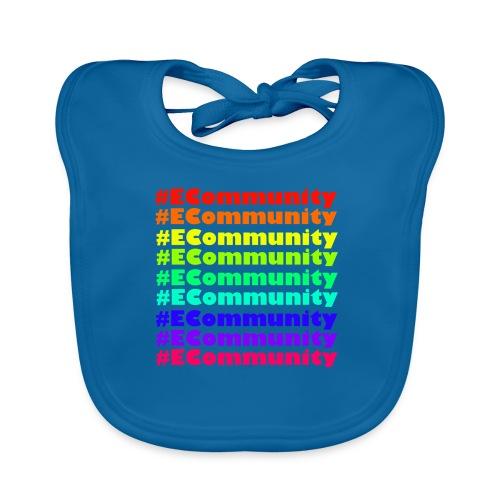 Ecommunity Rainbow - Baby Bio-Lätzchen
