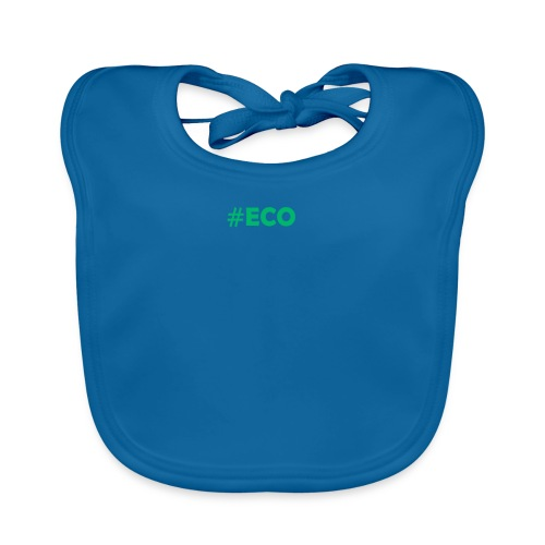 #ECO Blue-Green - Baby Bio-Lätzchen