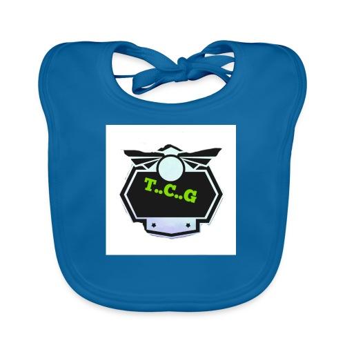 Cool gamer logo - Organic Baby Bibs