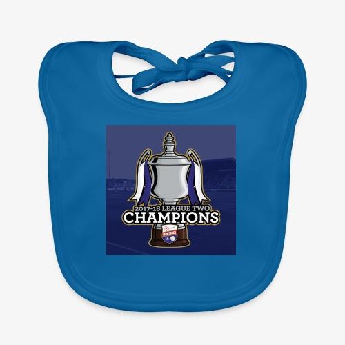MFC Champions 2017/18 - Organic Baby Bibs