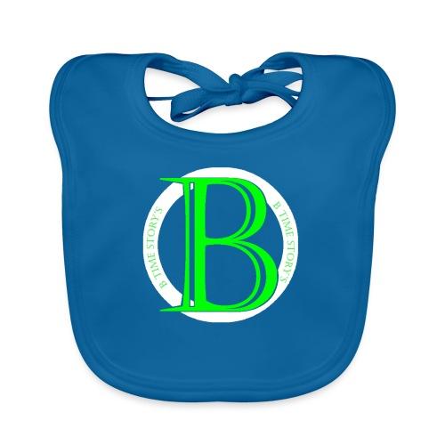 Wit Groen-logo - Bio-slabbetje voor baby's