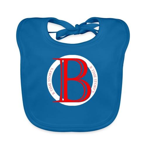 Wit Rood logo - Bio-slabbetje voor baby's