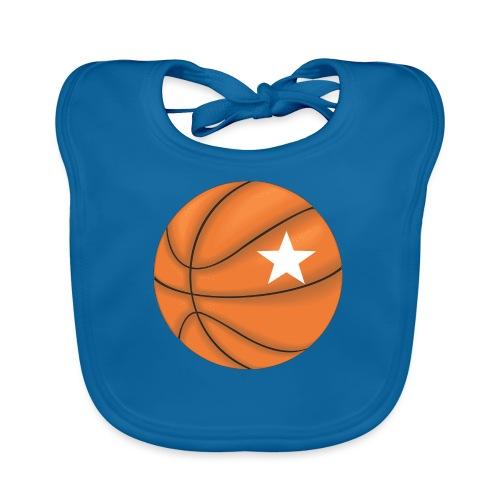 Basketball Star - Bio-slabbetje voor baby's