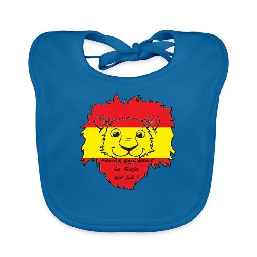 Lion supporter Espagne - Bavoir bio Bébé