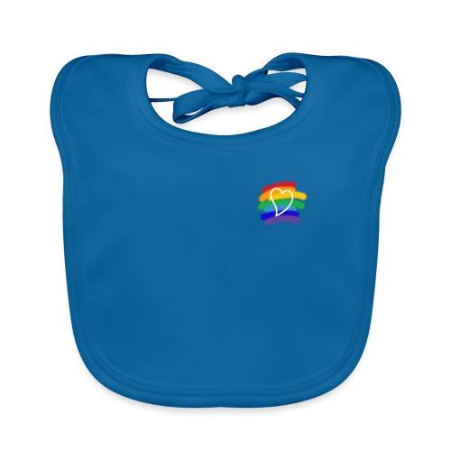 Love color - Babero de algodón orgánico para bebés