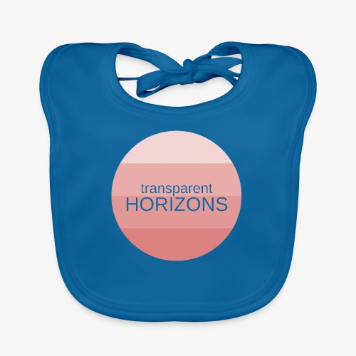 TRANSPARENT HORIZONS - Ekologisk babyhaklapp