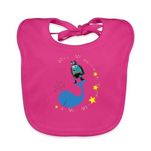 Super baleine - Bavoir bio Bébé