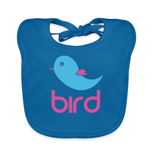 BIRD=PÁJARO - Babero de algodón orgánico para bebés