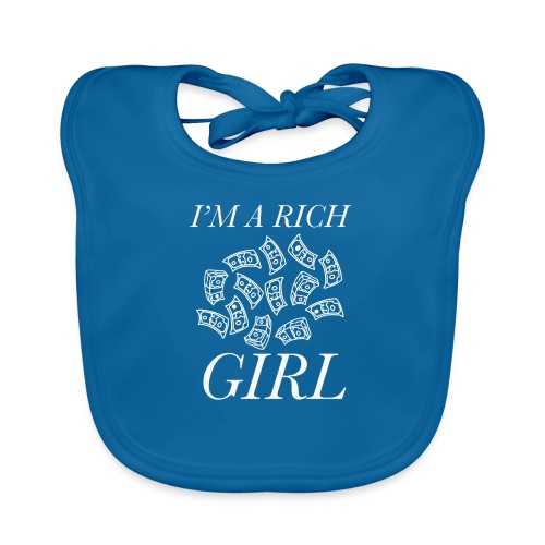 powerful I'm a rich girl T-shirt - Bavaglino ecologico per neonato