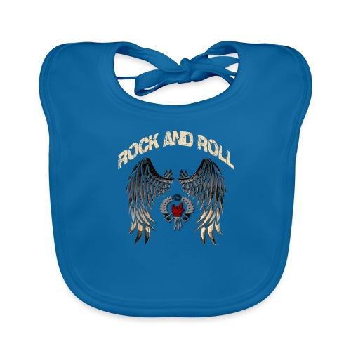 Rock and Roll - Babero de algodón orgánico para bebés