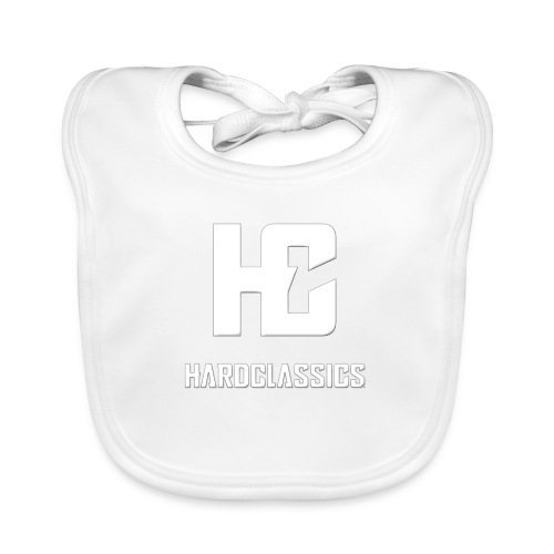 HC tekst logo - Bio-slabbetje voor baby's