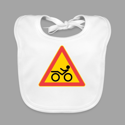 Traffic sign Recumbent - Vauvan ruokalappu