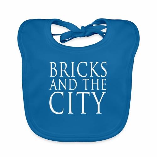 Bricks and the City (square) - Bavaglino ecologico per neonato