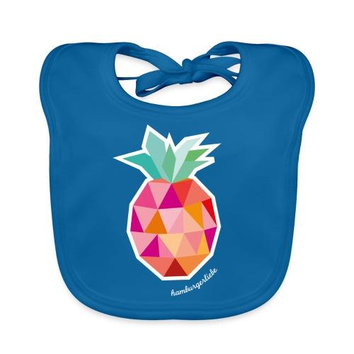 Pineapplelada Pink - Baby Bio-Lätzchen