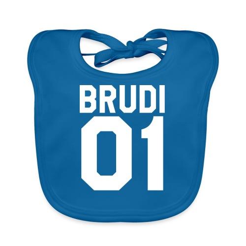 Brudi 01 Geschwister Beste Freunde Partnerlook - Baby Bio-Lätzchen