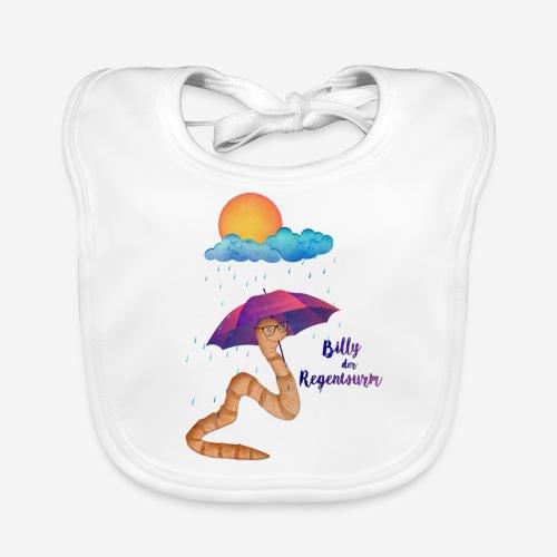 Billy der Regenwurm - Baby Bio-Lätzchen