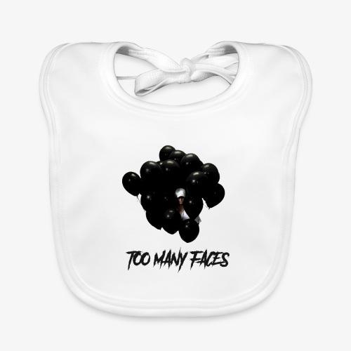 Too many faces (NF) - Baby Organic Bib