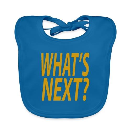 What's Next? - Baby Organic Bib