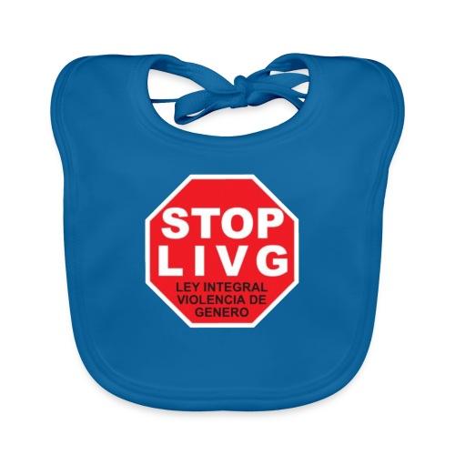 Stop LIVG Ley integral de violencia de Género - Babero ecológico bebé