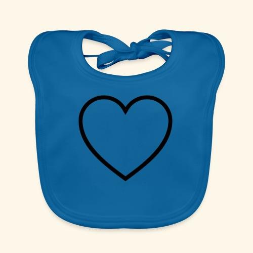 heart 512 - Baby økologisk hagesmæk