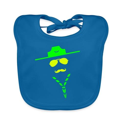 moustache - Baby Organic Bib
