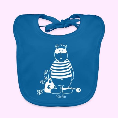 T-Shirt Bio schwarz RäuBär - Baby Bio-Lätzchen