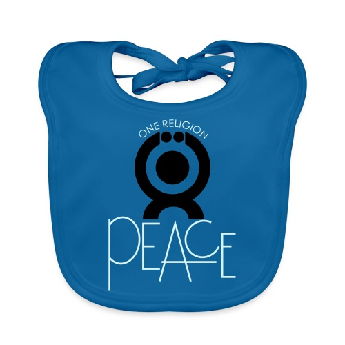 O.ne R.eligion Peace - Bavoir bio Bébé