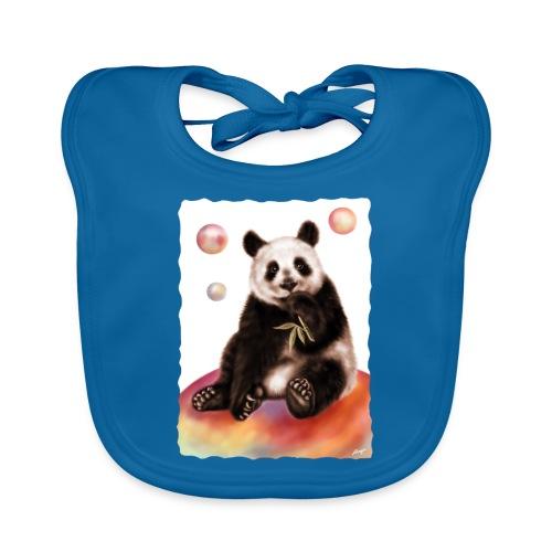 Panda World - Bavaglino ecologico per neonato