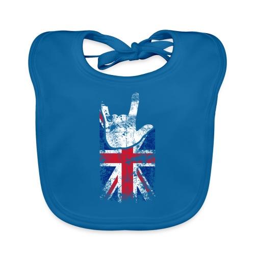 ILY Handsign Großbritannien - Baby Bio-Lätzchen