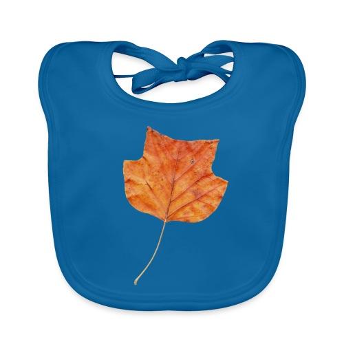 Herbst-Blatt - Baby Bio-Lätzchen