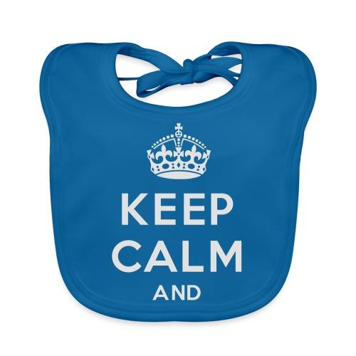keep calm and clean - Hagesmække af økologisk bomuld